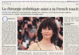 Interview du Docteur Yaël Berdah dans Le Figaro du 10 mai 2017